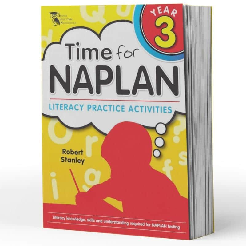 Grade 2 Naplan English Book - Time For Naplan Literacy Practice