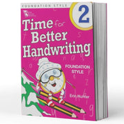 Year 2 Handwriting Books - Time For Handwriting