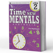Grade 2 Maths Extension Books - Time For New Mentals