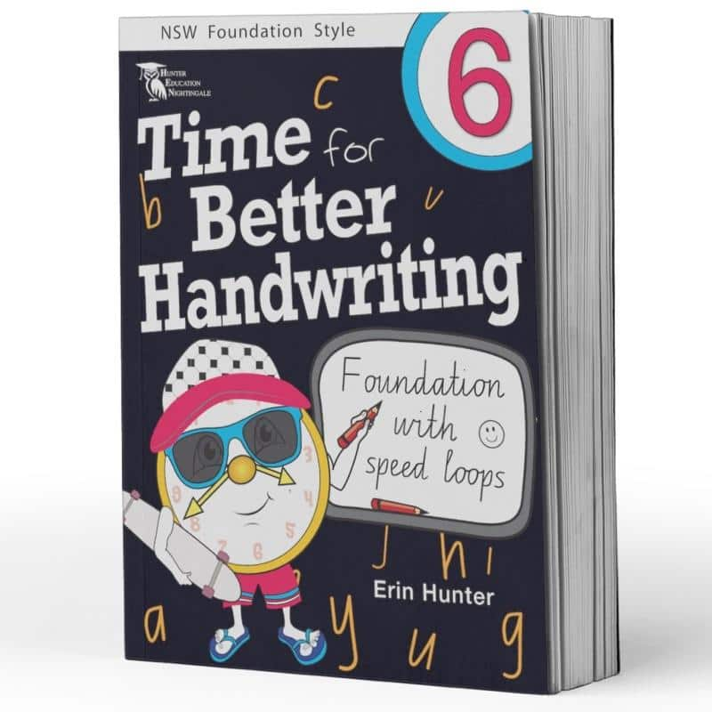 Year 6 Handwriting Books - Time For Handwriting