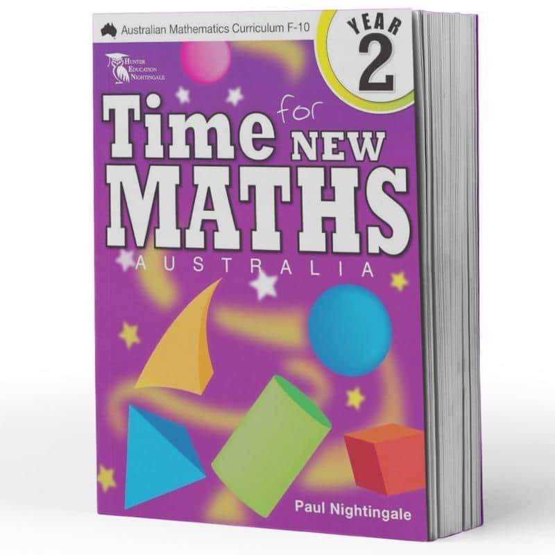Year 2 Maths Books - Time For New Maths