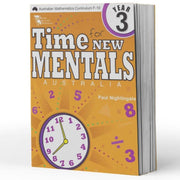 Grade 3 Maths Extension Books - Time For New Mentals