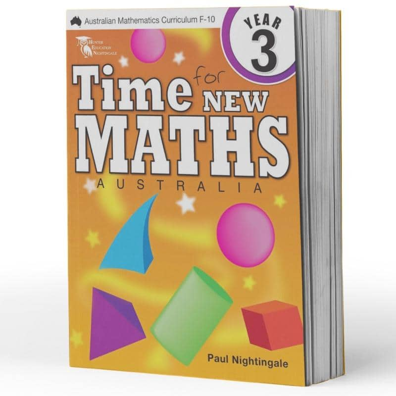 Year 3 Maths Books - Time For New Maths