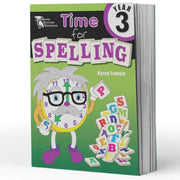 Year 3 Spelling Books - Time For Spelling