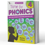 Grade 3 Phonics Books - Time For Phonics Books 4