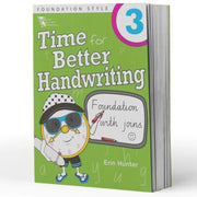 Grade 3 Handwriting Books - Time For Handwriting