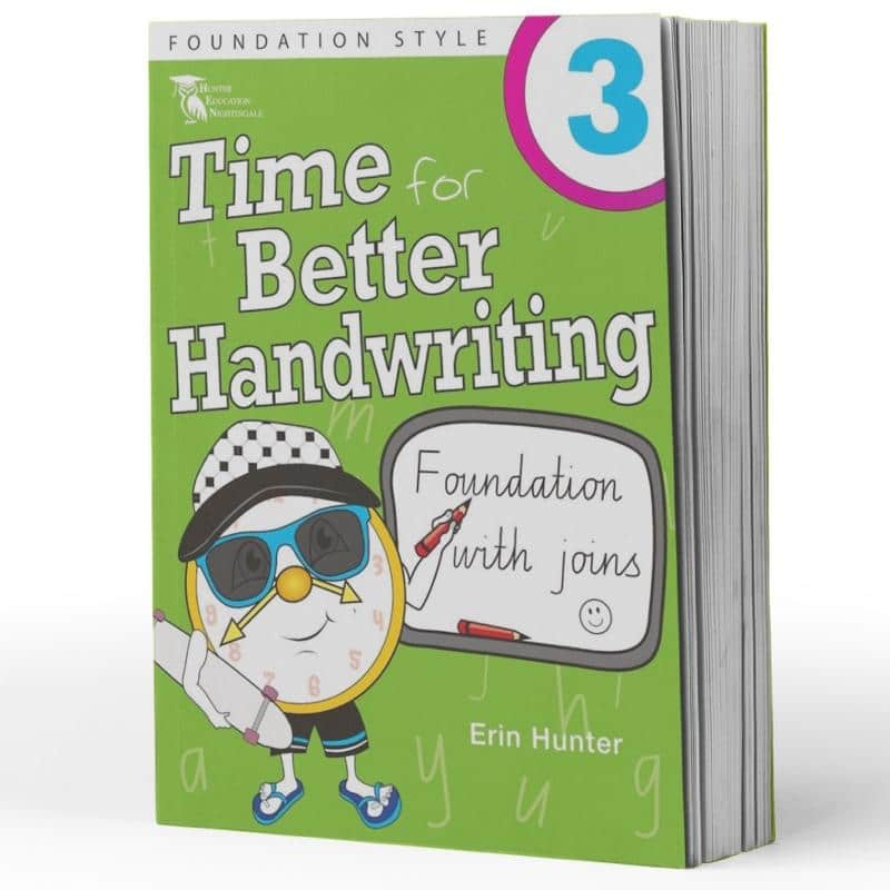Year 3 Handwriting Books - Time For Handwriting