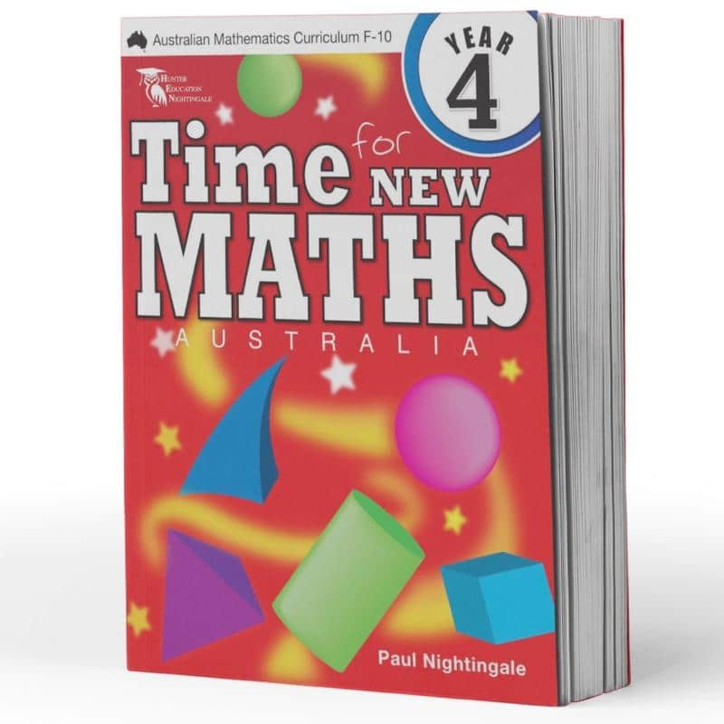 Year 4 Maths Books - Time For New Maths