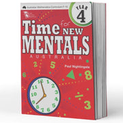 Grade 4 Maths Extension Books - Time For New Mentals