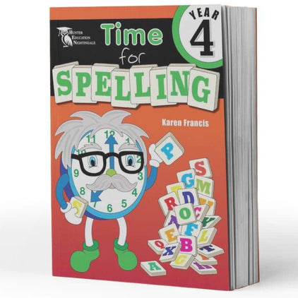 Year 4 Spelling Books - Time For Spelling