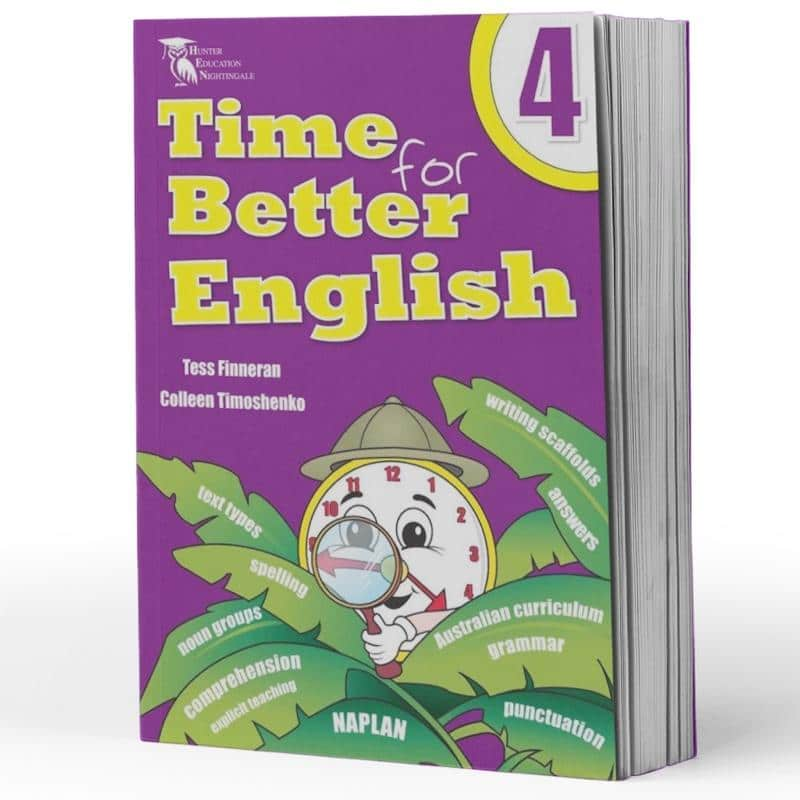 Grade 4 English Packs - Image of the pack contents