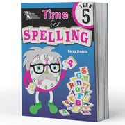 Grade 5 Spelling Books - Time For Spelling