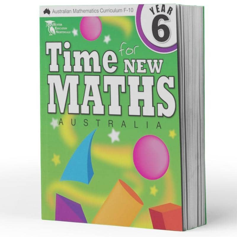 Year 6 Maths Books - Time For New Maths