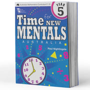 Grade 5 Maths Extension Books - Time For New Mentals