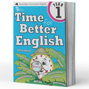 Grade 1 English Books- Time for Better English