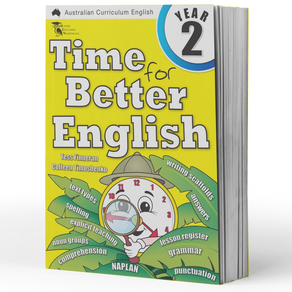 Grade 2 English Books - Time for Better English