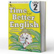 Year 2 English Books Worksheet Image- Time For Better English