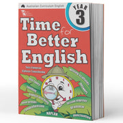 Grade 3 English Books - Time for Better English