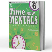 Year 6 Maths Extension Books - Time For New Mentals