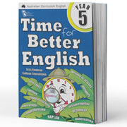 Grade 5 English Books - Time for Better English