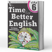 Year 6 English Books Worksheet Image- Time For Better English