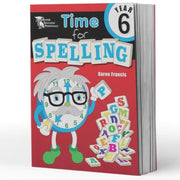 Year 6 Spelling Books - Time For Spelling