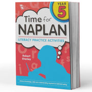 Grade 5 Naplan English Book - Time For Naplan Literacy Practice