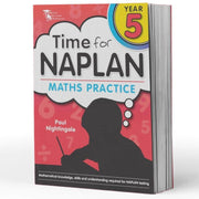Year 5 Naplan Maths Book - Time For Naplan Maths Practice