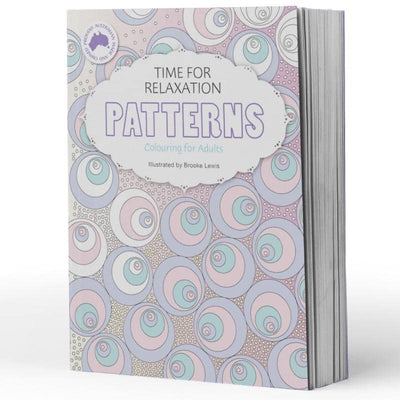 Colouring in Book- Patterns Colouring in Book Illustrated