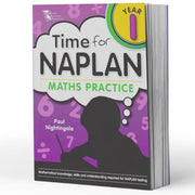 Prep Naplan Maths Book - Time For Naplan Maths Practice