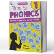 Kindy Phonics Books - Time For Phonics Book 1