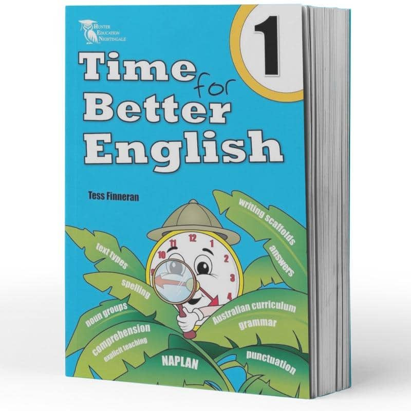 Grade 1 English Packs Contents Image - Australia's Best Education Books