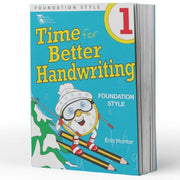 Year 1 Handwriting Book - Time For Handwriting