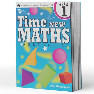 Year 1 Maths Books - Time For New Maths