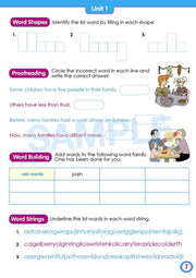 Year 2 Spelling Books Worksheet Image- Time For Better Spelling