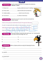 Grade 5 Spelling Books Worksheet Image- Time For Better Spelling