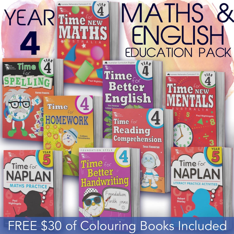 Year 4 Education Book Pack