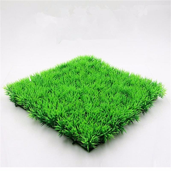 Eco Friendly Plastic Artificial Aquarium Green Fake Water Plants Lawn Fish Tank Aquarium Accessories