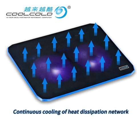 Professional External Laptop Cooler Pad Slide-Proof Stand Notebook Cooling Fan Notebook Fan