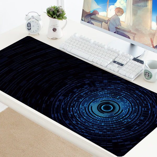 Extended Large Gaming Keyboard Carpet Mouse Pad Lockable Washable Rubber Pad Mouse Gamer HD Mats