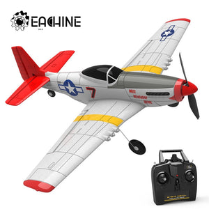 Eachine Mini P-51D EPP 400mm Wingspan 2.4G 6-Axis Electric RC Airplane Trainer for Beginner