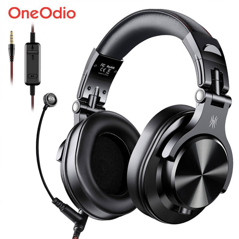 Gaming Headset Studio DJ Stereo Over Ear Wired Headphone With Microphone For PC PS4 Xbox One Gamer