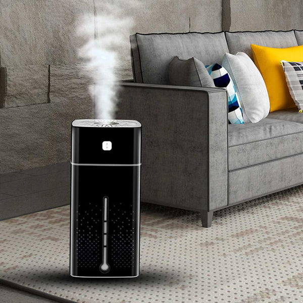 Air Purifier Essential Aromas Oil Diffuser 7 Color LED Night Light with Ultrasonic USB Changing