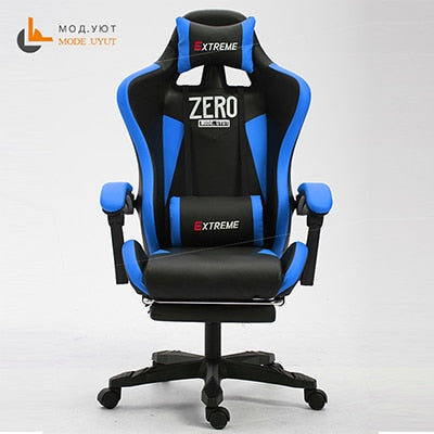 ZERO-L WCG Gaming Chair Ergonomic Computer Armchair Anchor Home Cafe Game Competitive Seats