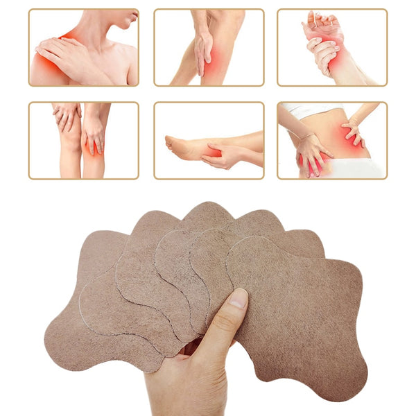 6pcs Knee Lumbar Pain Patches Relaxing Natural Wormwood Rheumatic Arthritis Plaster Back Massage