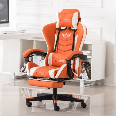 Gamer Chair Computer Professional Gaming Chair Ergonomic Game Chair for Gamer Footrest Reclining