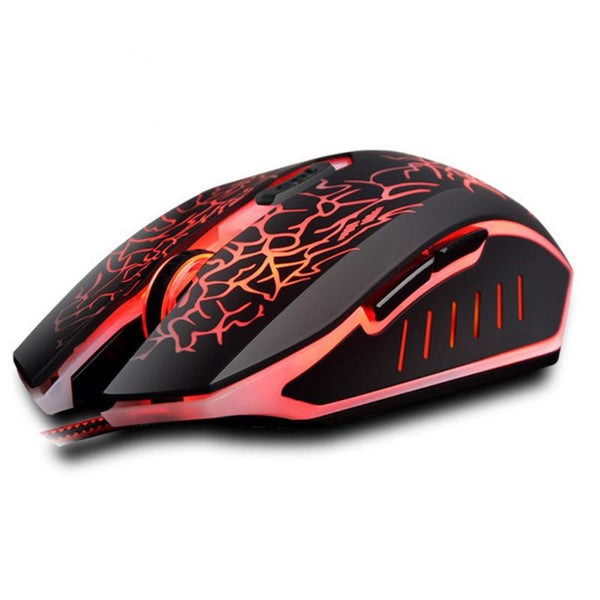 Professional Colorful Back-light Optical Wired Gaming Mouse For Laptop Mouse Gamer PC Laptop Mouse