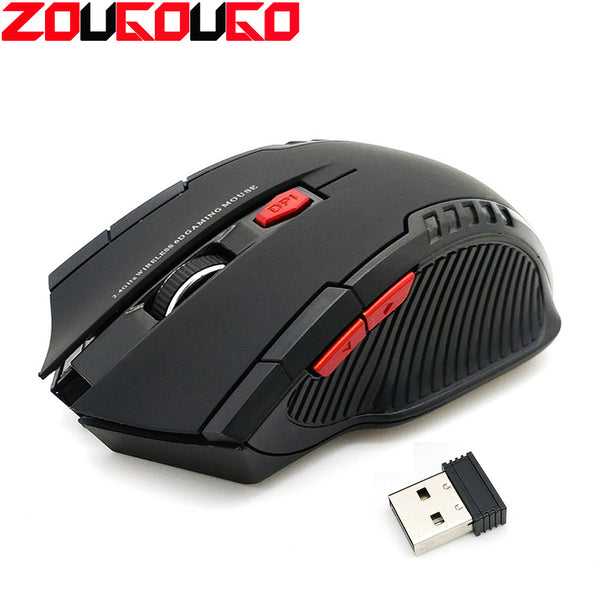2.4GHz Wireless Mice With USB Receiver Gamer 2000 DPI Mouse For Computer PC Laptop