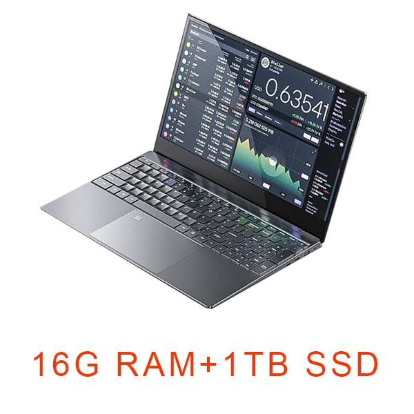 15.6 inch Gaming Laptop i5 8G/16G RAM 1TB/128G/256G/512G SSD Notebook Computer Laptop 4K IPS Display