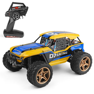 Wltoys 4WD 2.4G RC Car Dessert Vehicle Models High Speed 45km/h Remote Control Car Vehicle Toy